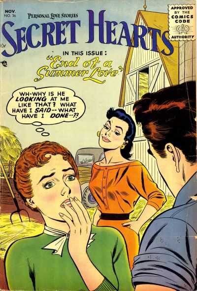 Cover for Secret Hearts (DC, 1949 series) #36