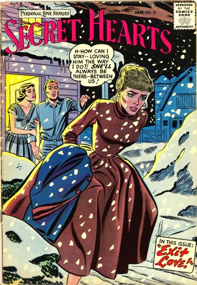 Cover for Secret Hearts (DC, 1949 series) #37