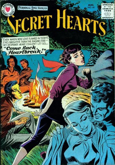 Cover for Secret Hearts (DC, 1949 series) #49