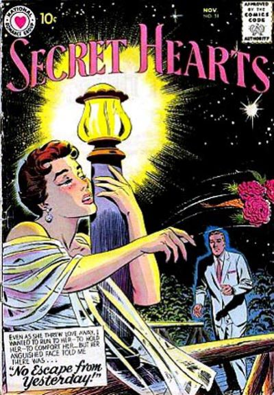 Cover for Secret Hearts (DC, 1949 series) #51