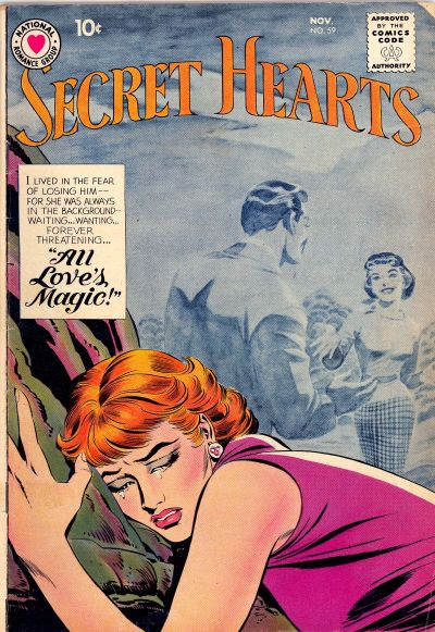 Cover for Secret Hearts (DC, 1949 series) #59