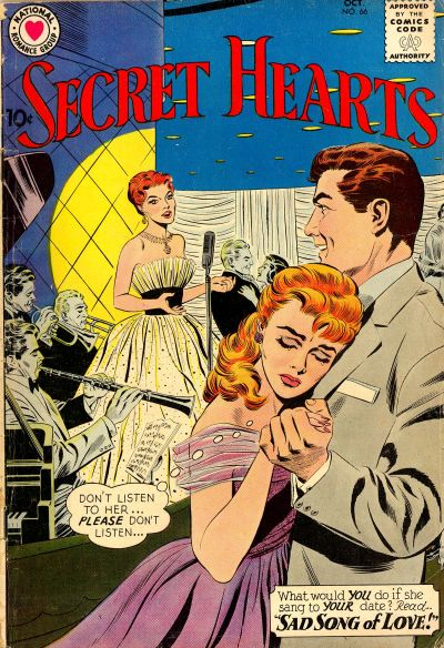 Cover for Secret Hearts (DC, 1949 series) #66