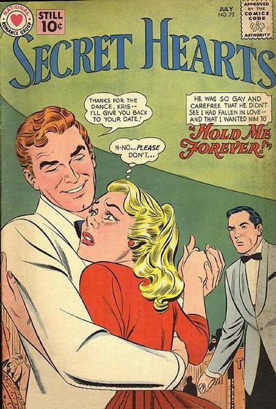 Cover for Secret Hearts (DC, 1949 series) #72