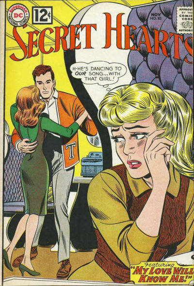 Cover for Secret Hearts (DC, 1949 series) #83