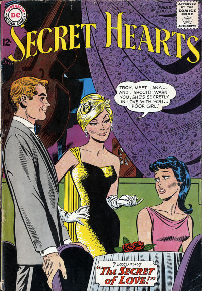 Cover for Secret Hearts (DC, 1949 series) #86