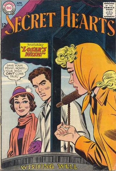 Cover for Secret Hearts (DC, 1949 series) #87
