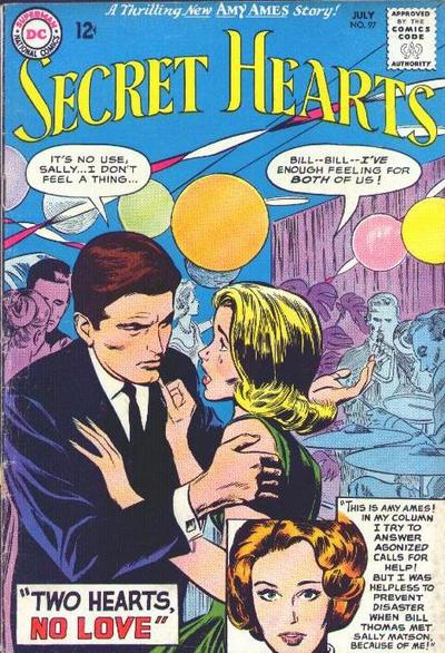 Cover for Secret Hearts (DC, 1949 series) #97