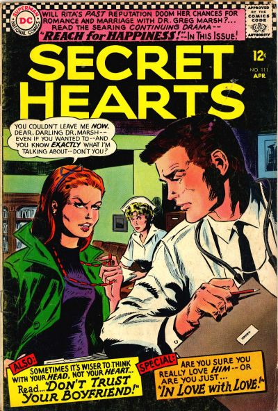 Cover for Secret Hearts (DC, 1949 series) #111