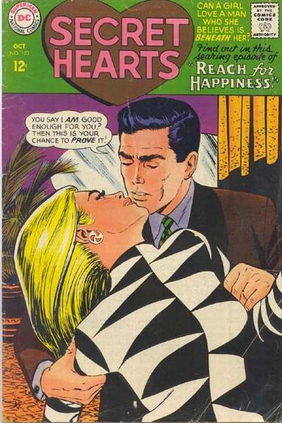 Cover for Secret Hearts (DC, 1949 series) #123
