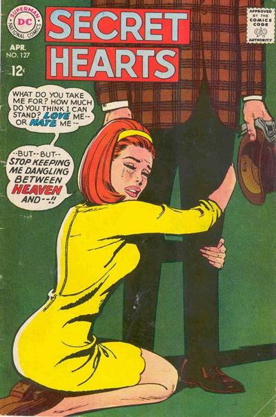Cover for Secret Hearts (DC, 1949 series) #127