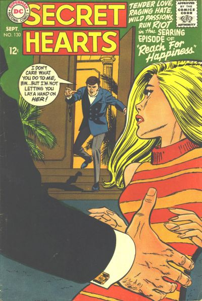 Cover for Secret Hearts (DC, 1949 series) #130