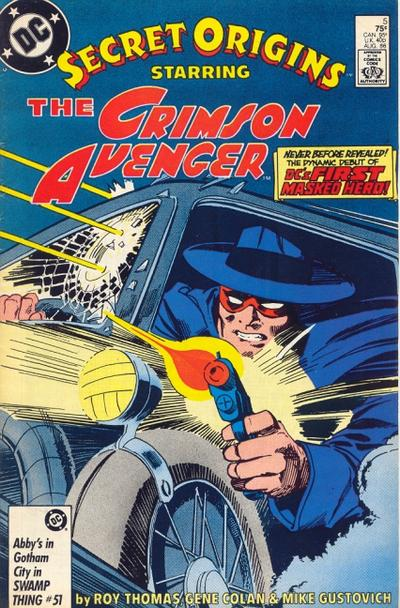 Cover for Secret Origins (DC, 1986 series) #5 [Newsstand]