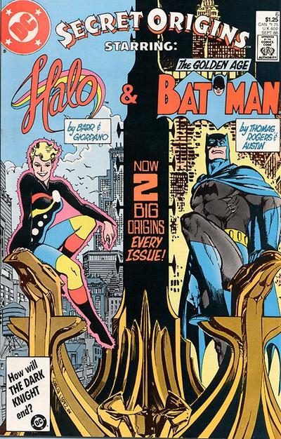 Cover for Secret Origins (DC, 1986 series) #6 [Newsstand]