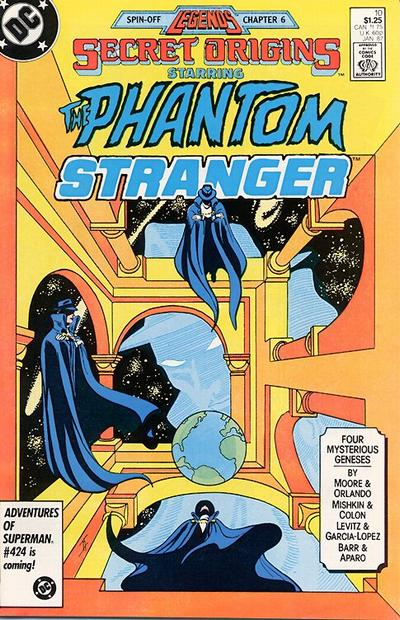 Cover for Secret Origins (DC, 1986 series) #10 [Newsstand Edition]