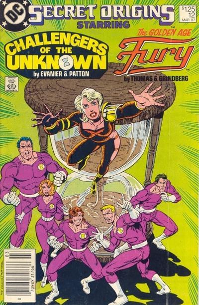 Cover for Secret Origins (DC, 1986 series) #12 [Direct Sales]