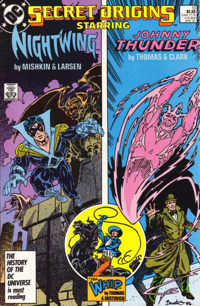Cover for Secret Origins (DC, 1986 series) #13 [Direct]