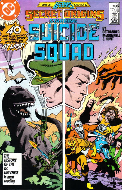 Cover for Secret Origins (DC, 1986 series) #14 [Direct Sales]
