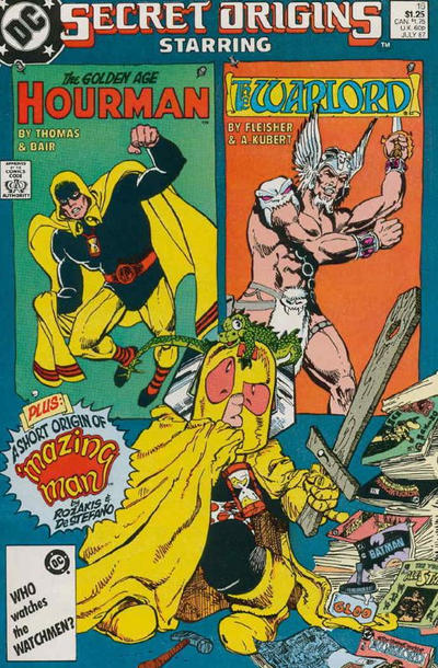 Cover for Secret Origins (DC, 1986 series) #16 [Direct]