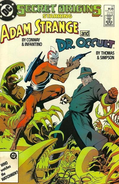 Cover for Secret Origins (DC, 1986 series) #17 [Newsstand]