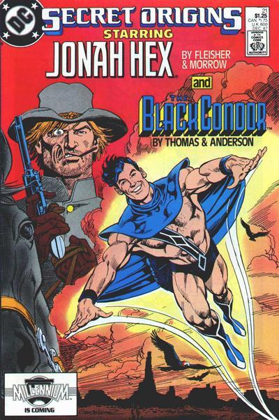 Cover for Secret Origins (DC, 1986 series) #21 [Newsstand]