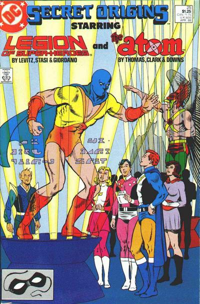 Cover for Secret Origins (DC, 1986 series) #25 [newsstand]
