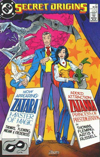 Cover for Secret Origins (DC, 1986 series) #27 [Direct]
