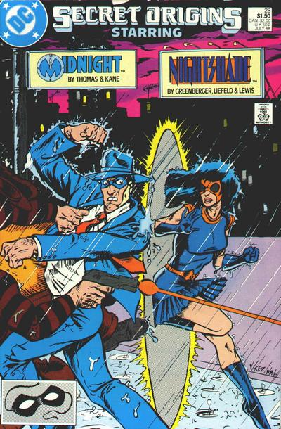 Cover for Secret Origins (DC, 1986 series) #28