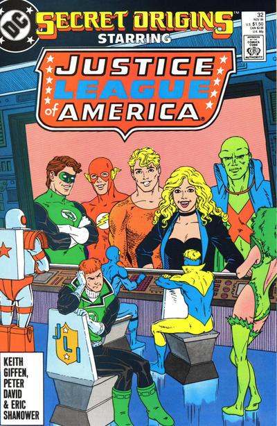 Cover for Secret Origins (DC, 1986 series) #32
