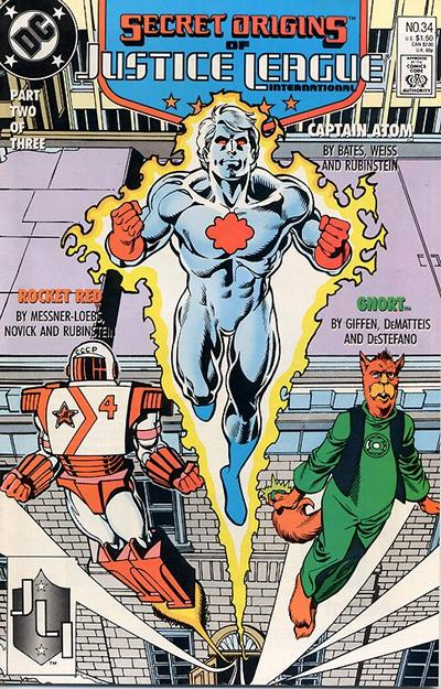 Cover for Secret Origins (DC, 1986 series) #34