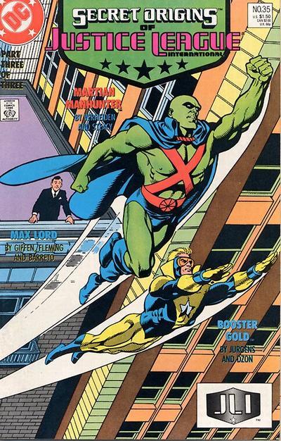 Cover for Secret Origins (DC, 1986 series) #35 [Direct]