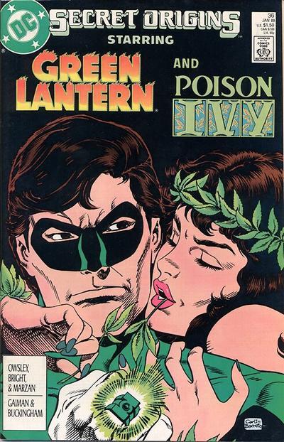 Cover for Secret Origins (DC, 1986 series) #36 [Direct]