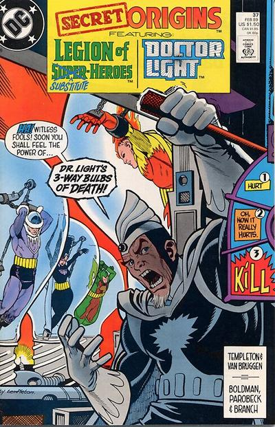 Cover for Secret Origins (DC, 1986 series) #37