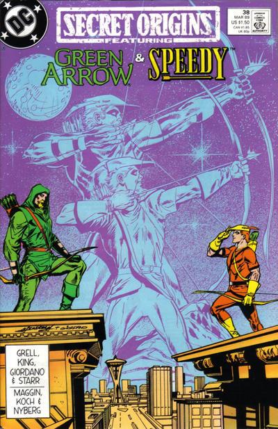 Cover for Secret Origins (DC, 1986 series) #38