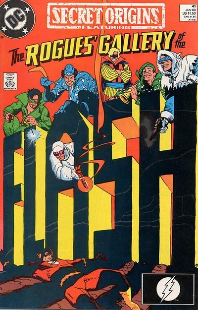 Cover for Secret Origins (DC, 1986 series) #41