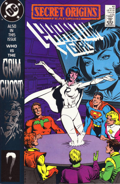 Cover for Secret Origins (DC, 1986 series) #42