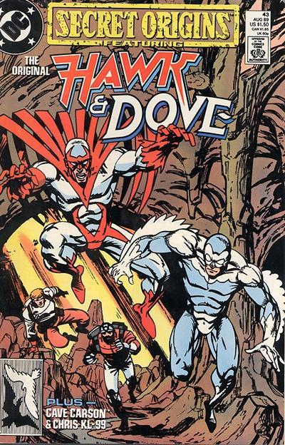 Cover for Secret Origins (DC, 1986 series) #43