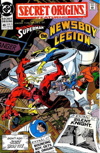 Cover for Secret Origins (DC, 1986 series) #49