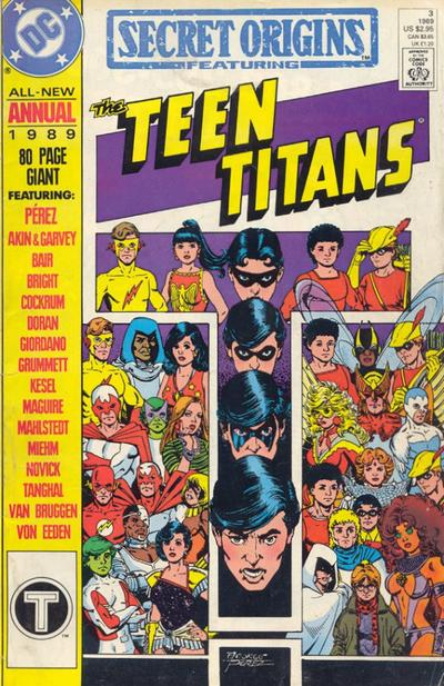 Cover for Secret Origins Annual (DC, 1987 series) #3