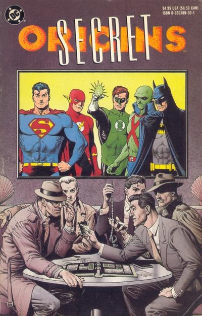 Cover for Secret Origins of the World's Greatest Super-Heroes (DC, 1989 series)