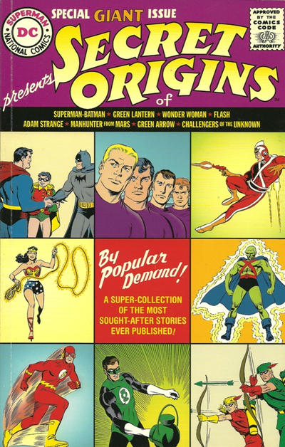 Cover for Secret Origins Replica Edition (DC, 1998 series) #1