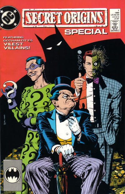 Cover for Secret Origins Special (DC, 1989 series) #1