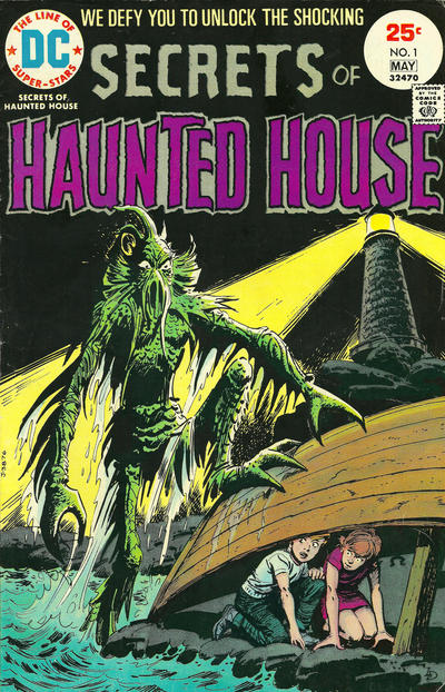 Cover for Secrets of Haunted House (DC, 1975 series) #1