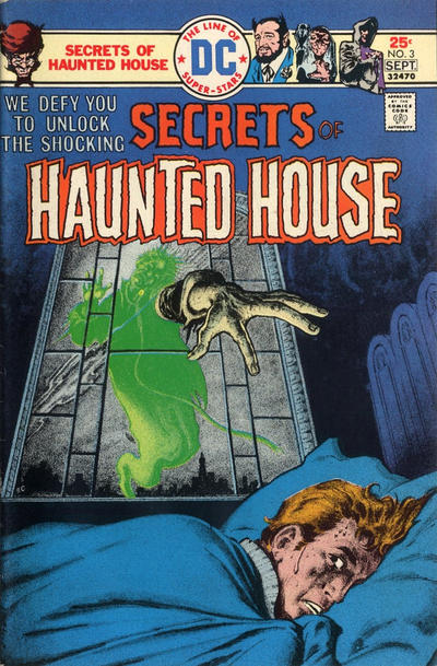 Cover for Secrets of Haunted House (DC, 1975 series) #3