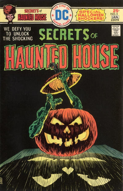 Cover for Secrets of Haunted House (DC, 1975 series) #5