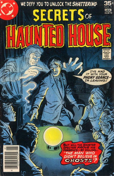 Cover for Secrets of Haunted House (DC, 1975 series) #9