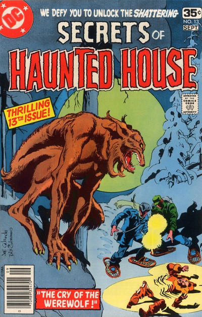 Cover for Secrets of Haunted House (DC, 1975 series) #13