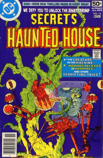 Cover for Secrets of Haunted House (DC, 1975 series) #14
