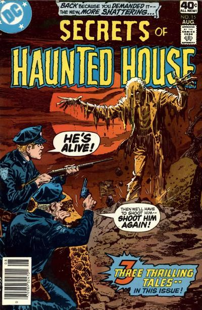 Cover for Secrets of Haunted House (DC, 1975 series) #15
