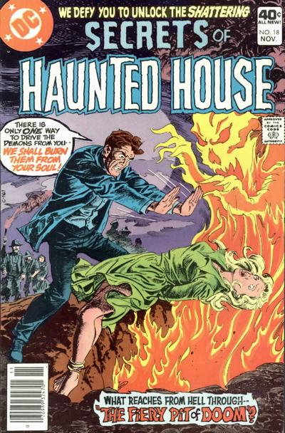 Cover for Secrets of Haunted House (DC, 1975 series) #18