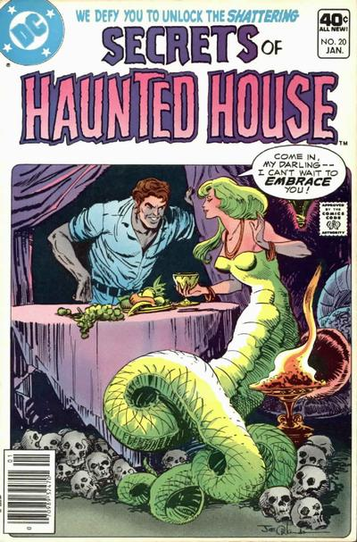 Cover for Secrets of Haunted House (DC, 1975 series) #20